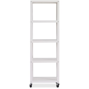 Lorell RTA Mobile Bookcase
