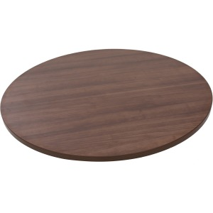 Lorell Woodstain Hospitality Round Tabletop