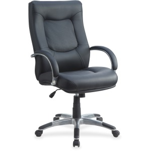 Lorell Stonebridge Leather Executive High-Back Chair