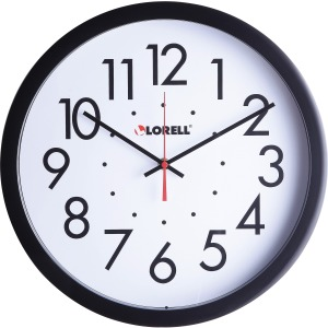 "Lorell 14-1/2"" Self-Set Wall Clock"