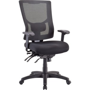 Lorell Multifunctional Mesh High-Back Executive Chair