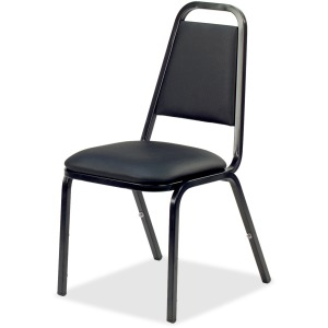 Lorell Upholstered Stacking Chair