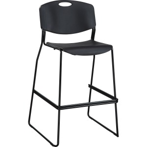 Lorell Heavy-Duty Bistro Stack Chair
