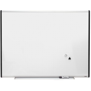 Lorell Magnetic Dry-erase Grid Lines Marker Board