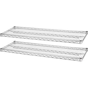 Lorell Indust Wire Shelving Starter Extra Shelves