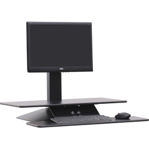 Active Office Sit-to-Stand Electric Desk Riser