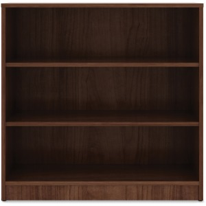 Lorell Walnut Laminate Bookcase
