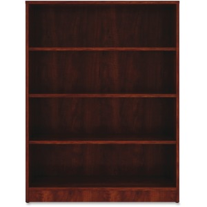 Lorell Cherry Laminate Bookcase