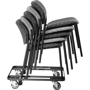 Lorell Stacking Dolly for 4-Leg Stack Chairs