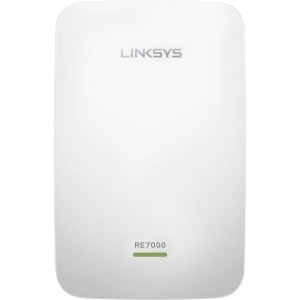 Linksys Max-Stream RE7000 IEEE 802.11ac 1.86 Gbit/s Wireless Range Extender