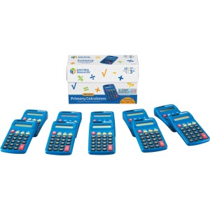 Learning Resources Primary Calculator Set