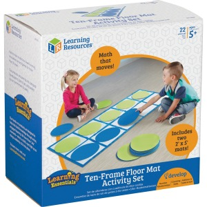 Learning Resources 10-frame Floor Mat Activity Set