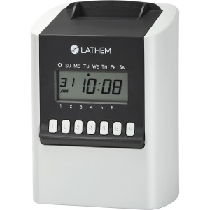 Lathem 700E Calculating Electronic Time Clock