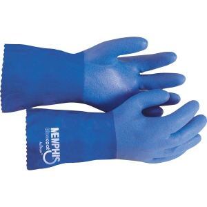 MCR Safety Blue Coat Seamless Gloves
