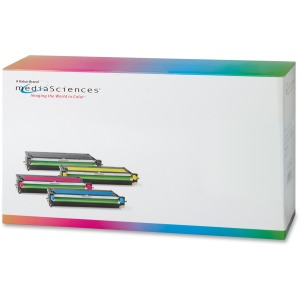 Media Sciences Toner Cartridge - Alternative for Dell (331-8432) - Cyan