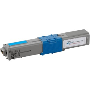 Media Sciences Toner Cartridge - Alternative for Okidata (44469703)