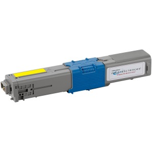 Media Sciences Toner Cartridge - Alternative for Okidata