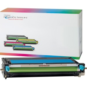 Media Sciences Toner Cartridge - Alternative for Dell (K4973) - Cyan
