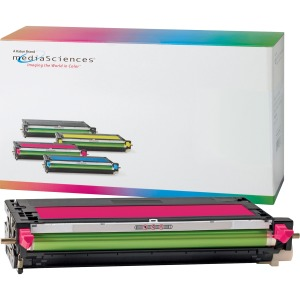 Media Sciences Toner Cartridge - Alternative for Dell (K4972) - Magenta