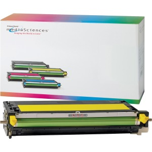 Media Sciences Toner Cartridge - Alternative for Dell (K4974) - Yellow