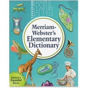 Merriam-Webster Elementary Dictionary Printed Book
