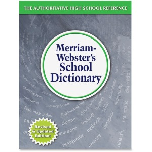 Merriam-Webster School Dictionary Printed Book