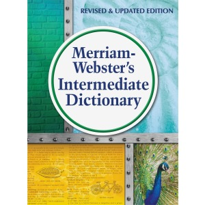 Merriam-Webster Intermediate Dictionary Dictionary Printed Book for Language Arts - English