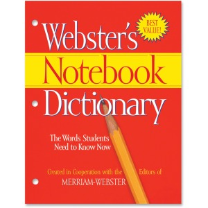 Merriam-Webster Notebook Dictionary Printed Book
