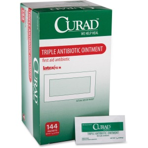 Curad Triple Antibiotic Ointment Packets