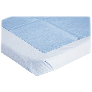 Medline Blue Disposable Stretcher Sheets