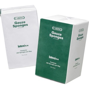 Medline Caring Non-sterile Gauze Sponges
