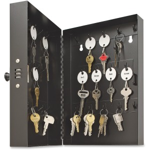 Steelmaster 28-Key Hook-Style Cabinet with Combo Lock