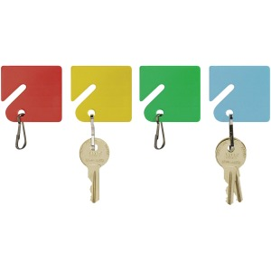 MMF Snap Hook Slotted Rack Key Tags