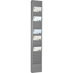 MMF Heavy-duty Swipe Card Rack