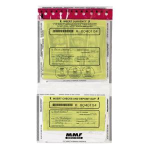 MMF Tamper Evident Twin Deposit Bags