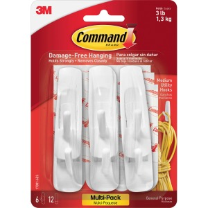 Command™ Medium Utility Hook Value Pack