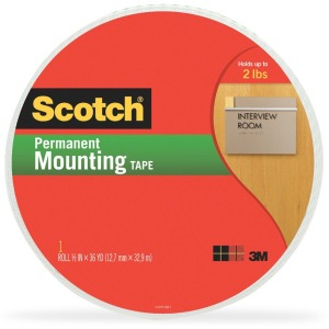 Scotch Double-Coated Foam Mounting Tape