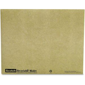 Scotch Padded Mailer 6914, 8 in x 10 in, Recyclable Mailer