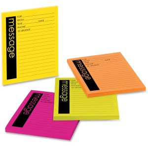 Post-it® Telephone Message Sticky Note Pads