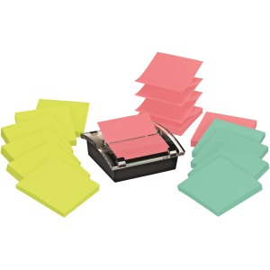 Post-it® Super Sticky Pop-up Notes Dispenser, 3