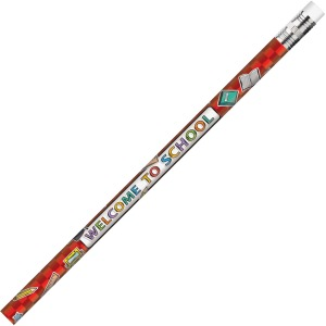 Moon Products Welcome To School Themed Pencils