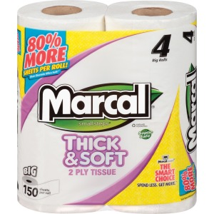 Marcal Thick & Soft Bath Tissue