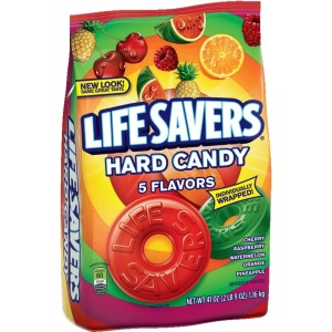 Life Savers 5 Flavors Hard Candy Bag - 2 lb. 9oz.