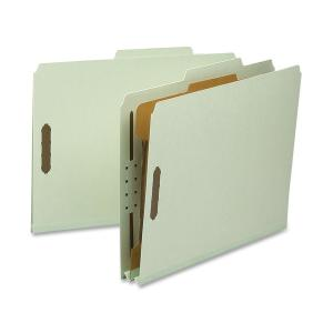 Nature Saver Recycled Gray/Green Classification Folders
