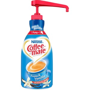 Nestlé® Coffee-mate® Coffee Creamer French Vanilla - 1.5L liquid pump bottle