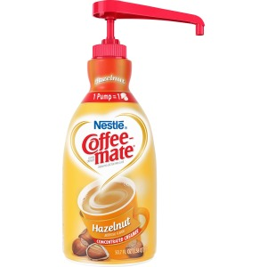 Nestlé® Coffee-mate® Coffee Creamer Hazelnut - 1.5L liquid pump bottle