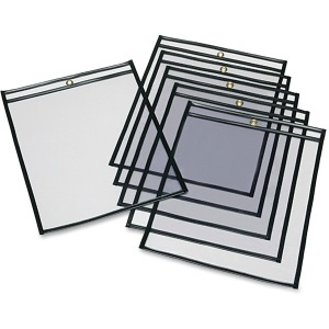 SKILCRAFT Transparent Poly Sheet Protectors