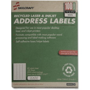 SKILCRAFT Address Label