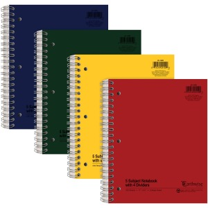 Ampad Oxford College - Ruled 5 - subject Notebook - Letter