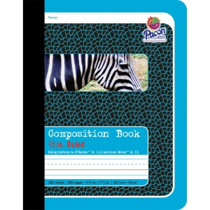 "Pacon 1/2"" Ruled Composition Book"